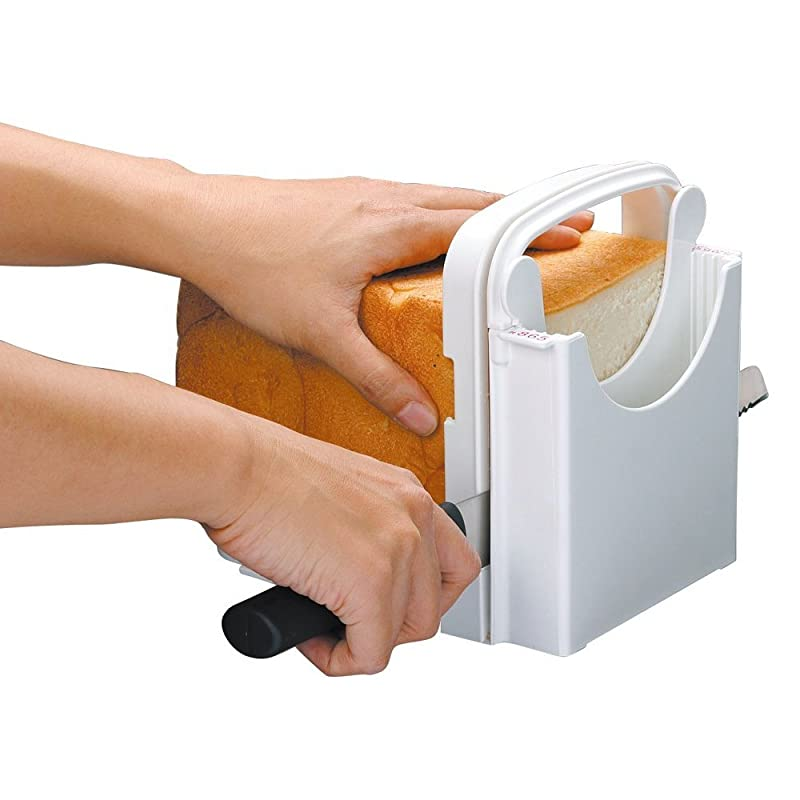 Skater Brand, Japanese Plastic Bread Slicer via Amazon