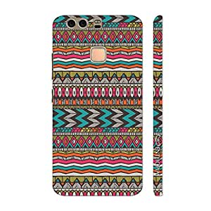 Enthopia Designer Hardshell Case Aztec 27 Back Cover for Huawei P9 Plus