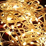 SFL Yellow Colored Decorative RICE LED Lights, 7 Metre Long