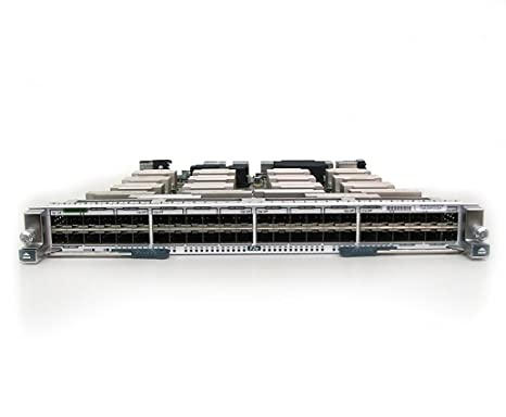Cisco - Nexus 7000 Enhanced F2-Series 48-Port Fiber 1 and 10 Gigabit Ethernet Module - Commutateur - C3 - 48 x 1 Gigabit 10 Gigabit SFP - Module enfichable