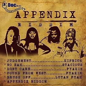 Appendix Riddim