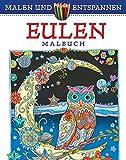 Malen und entspannen: Eulen (print edition)