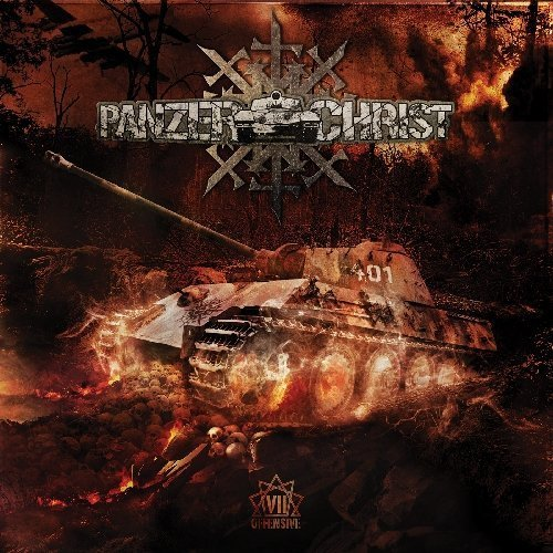 The 7th Offensive by Panzerchrist (2013) Audio CD
