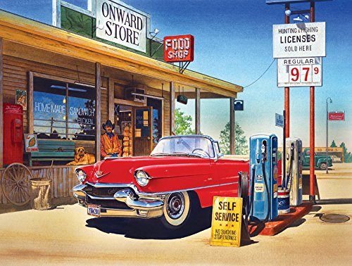 Onward Store Gas Station Jigsaw Puzzle