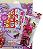 Dora The Explorer Boredom Buster Mega Pack - Sticker Paradise & Stationary Set