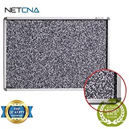 Rubber-Tak Tackboards, 3 x 4\', Model BRT12400 - Free NETCNA Touch Screen Pen - By NETCNA
