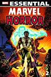 Essential Marvel Horror, Vol. 2 (Marvel Essentials) (v. 2) (0785130675) by Gerber, Steve