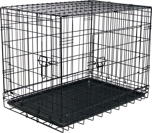 "24""H Folding Steel Pet Kennel front-752641"