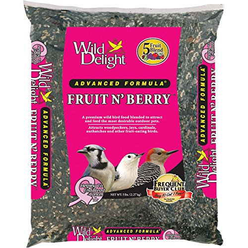D&D Commodities Ltd.-Wild Delight Fruit & Berry Wild Bird Food 5 Pound