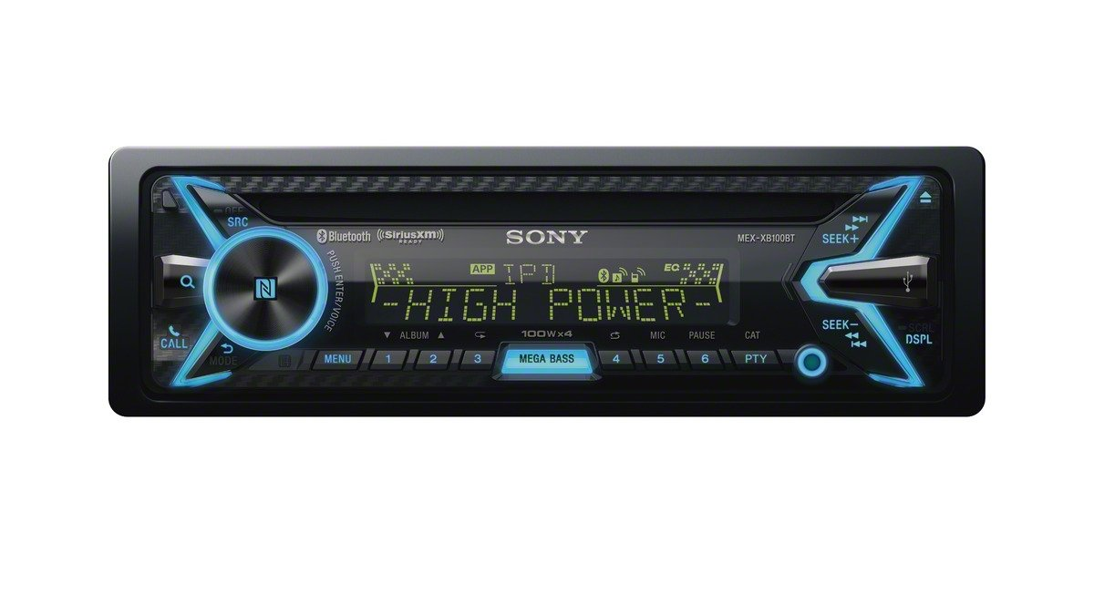 61FiBZz MbL._SL1200_ sony stereo radio with mega bass feature sounds incredible! club sony mex xb100bt wiring harness at nearapp.co