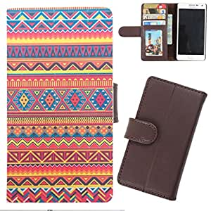 DooDa - For Micromax Canvas 2 A110 / A110Q PU Leather Designer Fashionable Fancy Wallet Flip Case Cover Pouch With Card, ID & Cash Slots And Smooth Inner Velvet With Strong Magnetic Lock