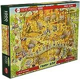 Heye Heye 29639 Puzzle Classique African Habitat 1000 Pièces