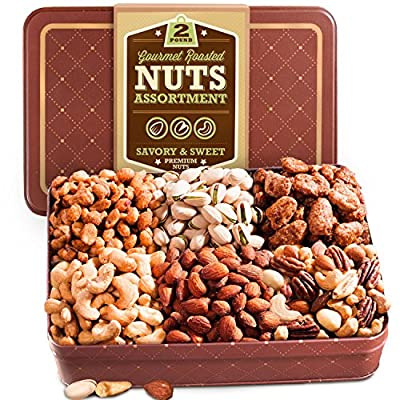 Golden State Fruit Two Pound Roasted Nuts Gift Tin