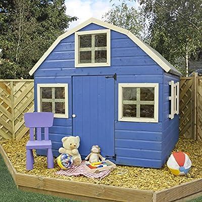 Childrens Wooden Dutch Barn Playhouse 6 x 6 OGD084