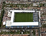 Mouse mat featuring aerial pic of Priestfield Stadium, home of Gillingham FC