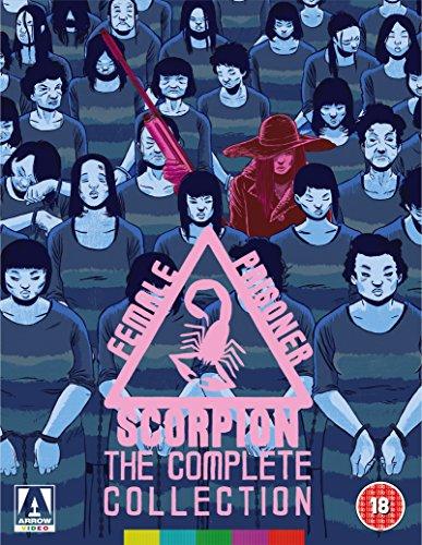 Female Prisoner Scorpion: The Complete Collection (8 Blu-Ray) [Edizione: Regno Unito]