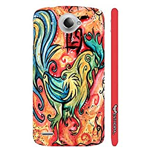 Lenovo S 920 CHINESE ZODIAC ROOSTER designer mobile hard shell case by Enthopia
