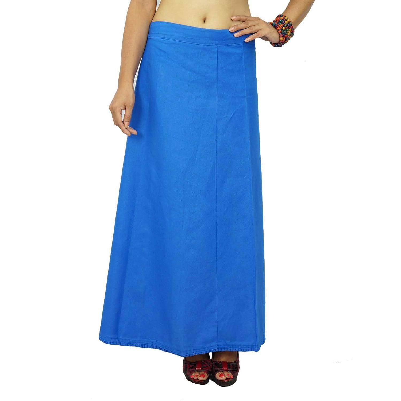 Bollywood Solide Baumwolle PetticoatUnderskirt indischen Futter für Saree jetzt bestellen