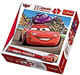 Trefl Dynamic 3D Jigsaw Lightning McQueen and Holley Shiftwell Disney Cars 2 (48 Pieces)