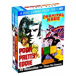 Blu-Ray Twin Pack: Poor Pretty Eddie & Carnival Magic