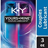 K-Y Yours & Mine Couples Lubricant for Him & Her, 2 bottles/1.5 oz. each (3 0z. total) - Warming, water-based lube for men & tingling lube for women - compatible with massagers & toys (Color: Clear, Tamaño: One Pack)