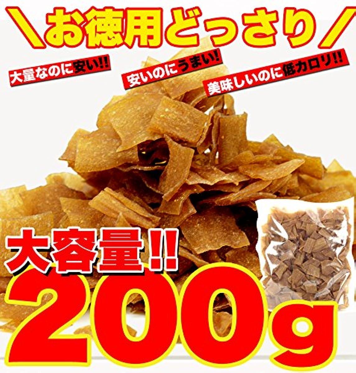 천연 생활 국산 곤약 사용 군마현 아래 닛타의 곤약의 유명한 상점이 만드는 엄선한「곤약 칩 입니다덕용☆다이어트 곤약 팁(칩)200g