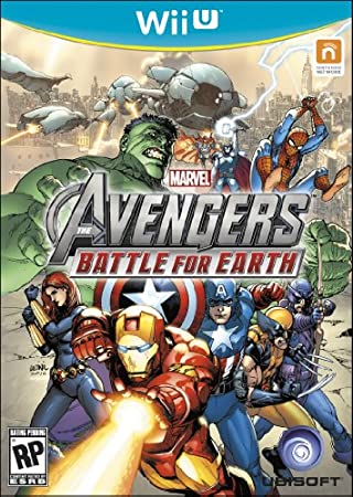 Marvel Avengers Battle for Earth - Trilingual - WiiU