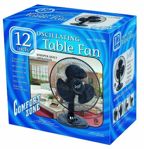 Comfort Zone Box Fan : Buy low price comfort zone cztfr b inch tower fan