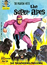 Indrajal Comics-34-phantom (rare Gem): The Phantom Meets The Super Apes (1966)