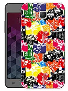"Humor Gang Cameras From Now To Then Printed Designer Mobile Back Cover For ""Samsung Galaxy j2"" (3D, Matte, Premium Quality Snap On Case)"