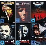 HALLOWEEN Edition Teil 1 2 3 4 5 H20 Michael Myers Collection 6 DVD Neu