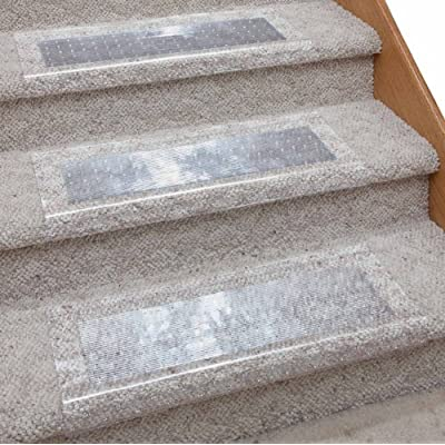 Amazoncom Clear Stair Carpet Protector By EasyComforts
