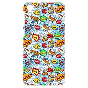a AND b Designer Printed Mobile Back Cover / Back Case For HTC Desire 826 (HTC_826_3D_2336)
