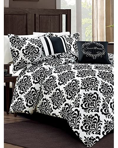 Luxury Home 6-Piece Mindy Comforter Set