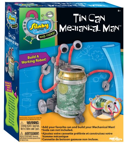 Slinky Science Tin Can Mechanical Man Kit (Soda Can Kit compare prices)