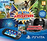 Playstation Vita Console Plus Adventure Mega Pack: 8GB Memory Card Plus WiFi (Playstation Vita)