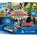 Playstation Vita Console Plus Adventure Mega Pack: 8GB Memory Card Plus WiFi (Playstation Vita)