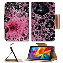 buy Msd Premium Samsung Galaxy Tab 4 7.0 Inch Flip Pu Leather Wallet Case Abstract Foam Background Image Id 23691846