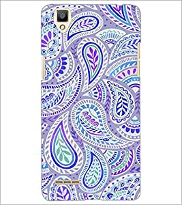 PrintDhaba Pattern D-2131 Back Case Cover for OPPO F1 (Multi-Coloured)