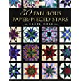 50 Fabulous Paper-Pieced Stars: CD included