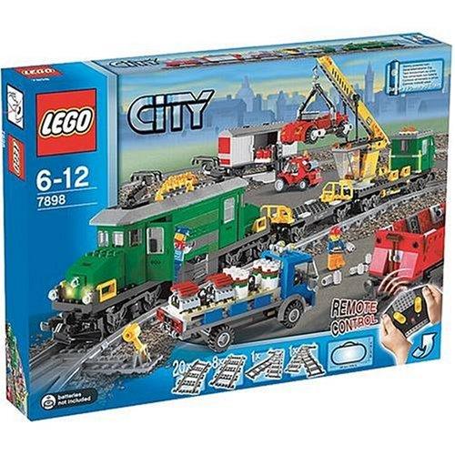 LEGO City 7898 Cargo Train Deluxe