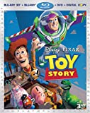 Toy Story [Blu-ray 3D + Blu-ray + DVD + Digital Copy] (Bilingual)