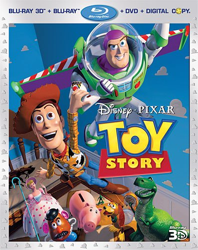 Cover art for  Toy Story (Blu-ray 3D/Blu-ray/DVD Combo +  Digital Copy)