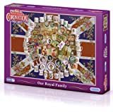Gibsons Our Royal Family Jigsaw Puzzle (1000 Pieces)
