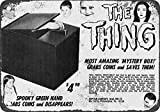 1965 Addams Family The Thing Coin Grabber Bank Vintage Look Reproduction Metal Sign