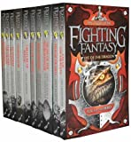 Fighting Fantasy Collection 10 Books Set Pack RRP: £ 59.90 (The Warlock of Firetop Mountain, The Citadel of Chaos, Deathtrap Dungeon, Stormslayer, Creature of Havoc, City of Thieves, Blood bones, Night Necromancer, House of Hell, Eye of the Dragon) (Fig