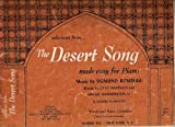 Selections From... The Desert Song (Made Easy for Piano)