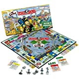 Usaopoly Simpsons Monopoly by USAOPOLY, Inc TOY (English Manual)