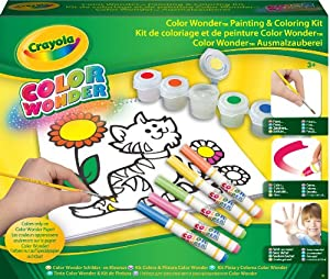 Crayola 12610 - Kit Pinta Y Colorea Color Wonder