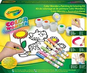 Crayola juegos para pintar for Aerografo crayola amazon